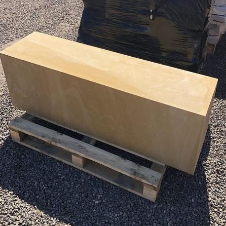 Buntschiefer Mauersteine 6 - 25 cm hoch auf Paletten