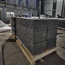 Granit Griys Grau Podestplatten 15 cm hoch gesägt und geflammt Größe 200 x 100 cm