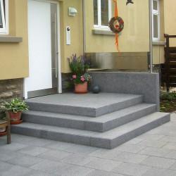Granit Pflaster Platten Gelb 6 cm stark sandgestrahlt Größe 60 x 40 cm