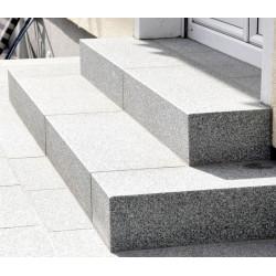 Basaltlava Blockstufen Anthrazit geschliffen 15 x 35 cm