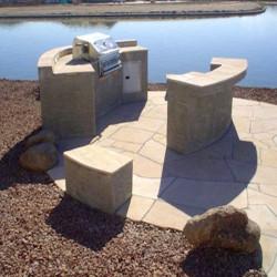 Granit Weißgrau Blockstufen geflammt Längen bis 300 cm