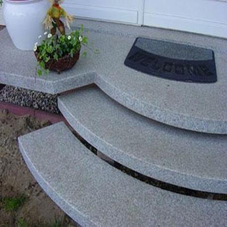 Basaltlava Gray Shadow Bordsteine 12 x 25 cm Strassenbordstein